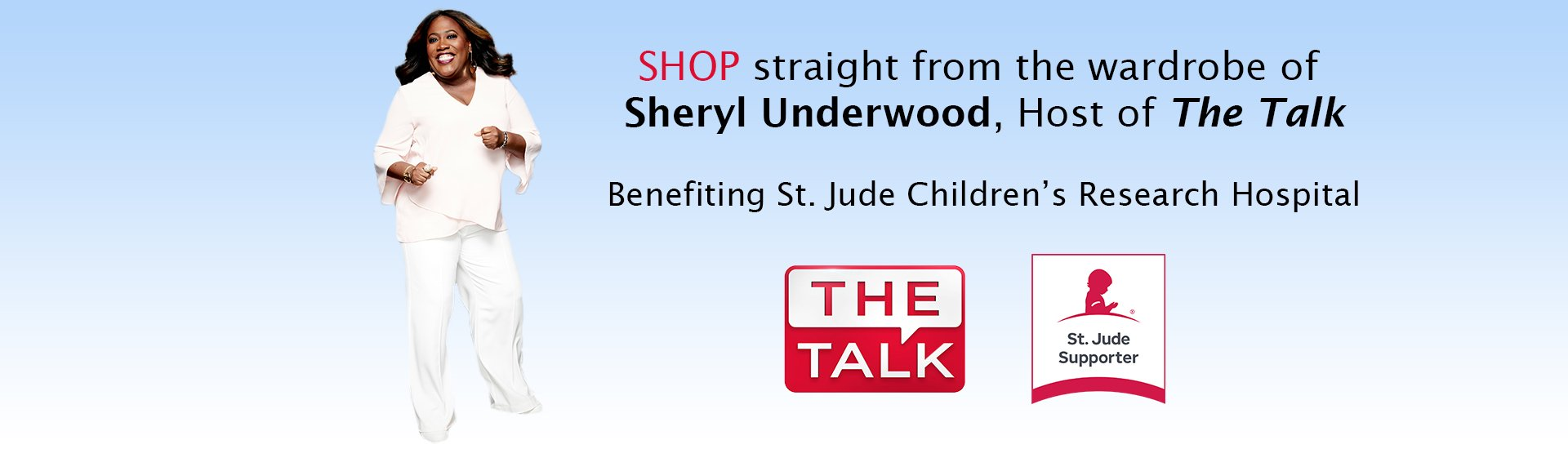 Sheryl Underwood The Talk Collection for St. Jude