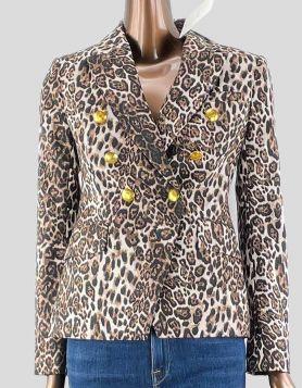 NWT A.L.C. Alton Leopard-Print Blazer - 2 US