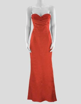 Alexander McQueen Red Gown - 44 EU | 8 US