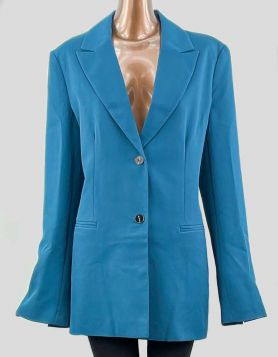 ASOS two-button blazer with split sleeve design. Two slit front pockets Size: 12 Tall US