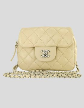 Classic Chanel Bag Cream