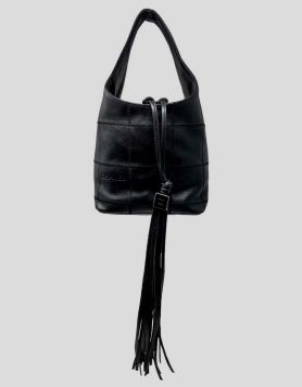 Chanel Square Quilted Bucket Bag