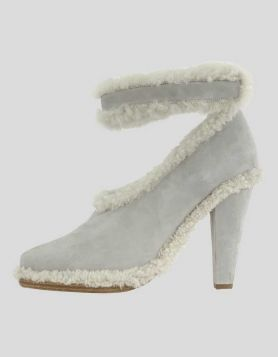 Chloé Grey Suede Booties - 40 IT | 10 US
