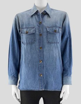 Current/Elliott Denim Shirt - Size 1
