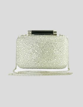 DVF Tonda Crystal Evening Clutch