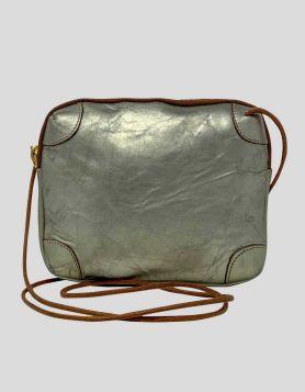 Furla Gold Leather Crossbody