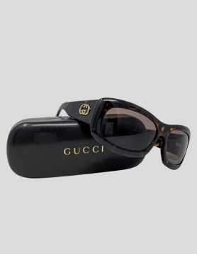 Gucci Tortoise Sunglasses