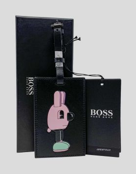 Hugo Boss x Jeremyville Luggage Tag