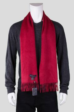 Brooks Brothers Red Cashmere Scarf