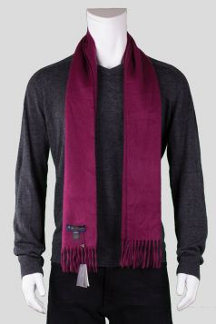 Brooks Brothers Burgundy Cashmere Scarf