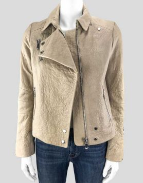 J Brand Leather Jacket – X-Small
