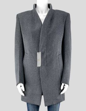 Jianyi Grey Coat - Medium