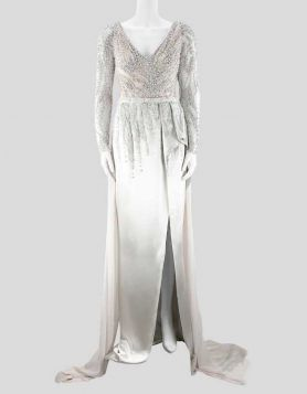 Mark Zunino Wedding Gown - 4 US