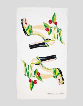 Manolo Blahnik Beach Towel