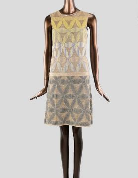 Missoni sleeveless drop waist, scoop neck dress - Size: Medium
