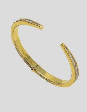 Melinda Maria Claw Cuff Bracelet Diamondettes