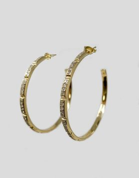 Melinda Maria Hoop Earrings