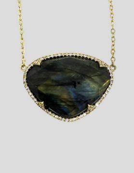 Melinda Maria Charina Labradorite Necklace