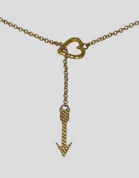 Melinda Maria Heart & Arrow Y Necklace
