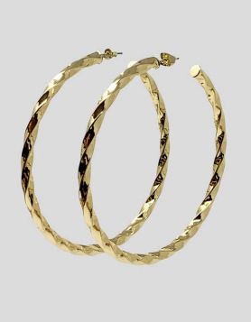 Melinda Maria Remi Large Hoop Earrings