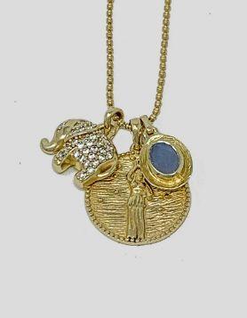 Melinda Maria Goddess of Prosperity Necklace
