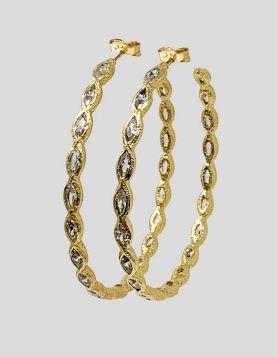 Melinda Maria Isla Hoops Gold