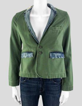 NSF Green Blazer - Petite