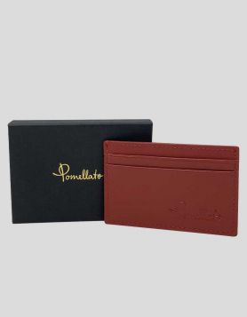 Pomellato Red Leather Card Holder