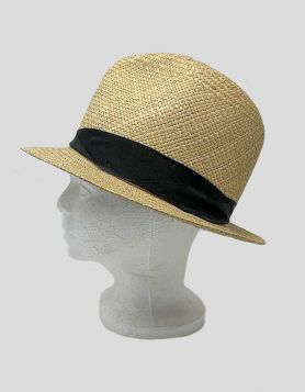 Rag & Bone Women's Panama Hat. 100% Panama straw with grosgrain accent strap with twisted detail. Interior band.