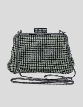Vintage Rhinestone Evening Bag