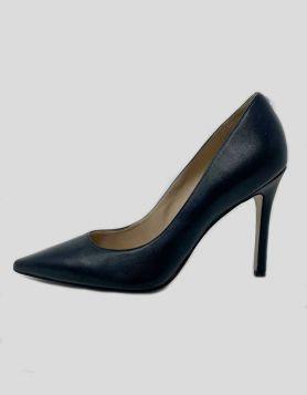 Sam Edelman Hazel pointed toe stiletto heel in black leather. Size 7 M US