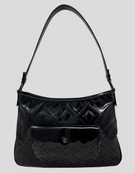 Suarez Black Shoulder Bag