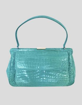 Tiffany & Co. Laurelton Handbag Blue