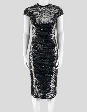Tom Ford Black Sequin Dress - 36 EU / 4 US