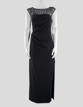 Vera Wang Black Cocktail Dress - 4 US