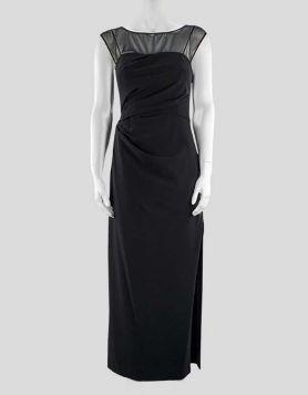 Vera Wang Black Cocktail Dress - 4 US