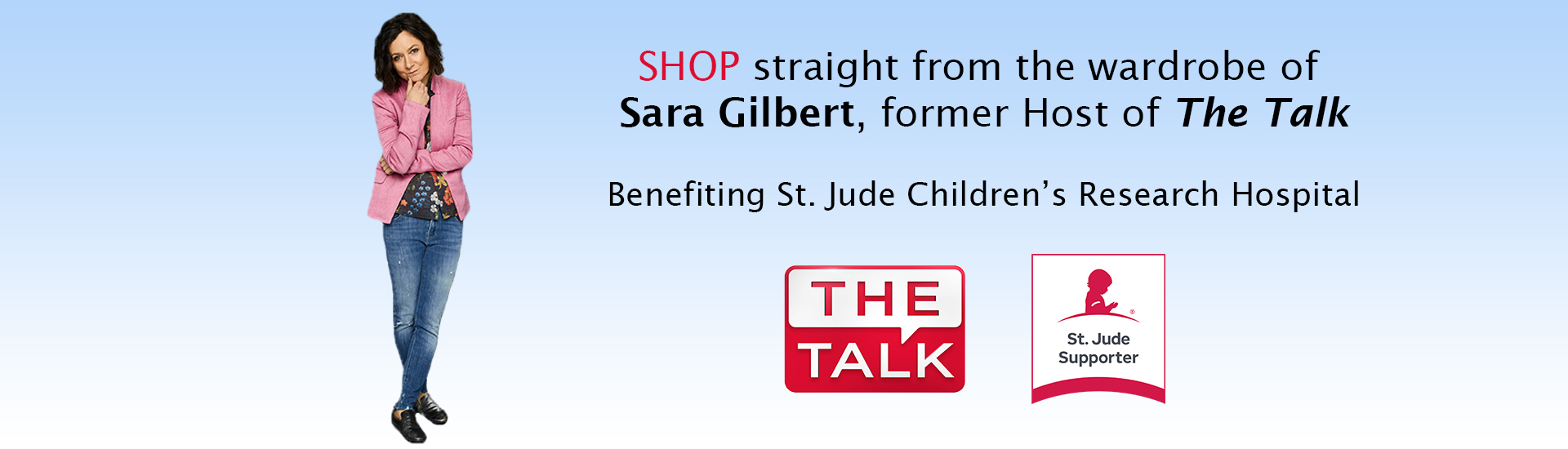 Sara Gilbert The Talk Collection for St. Jude